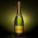 Bottle of champagne. Drappier